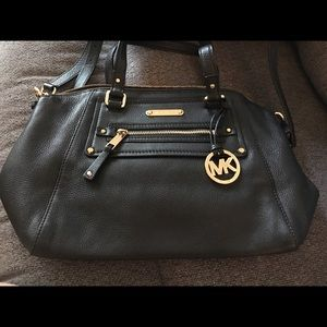 Michael Kors large crossbody leather purse